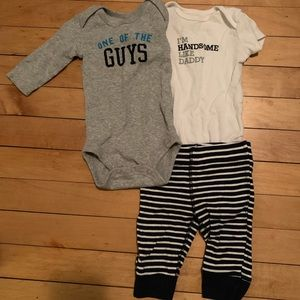 Carter's 6 month Baby Boy Bundle Outfit Pants 3-6